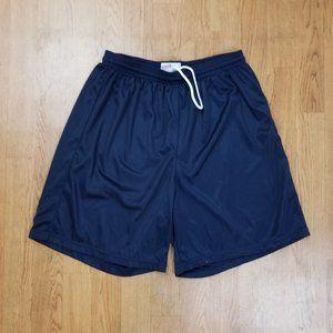 Men's Nylon Mini-Mesh Shorts - Navy